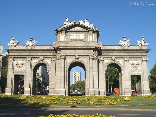 El Madrid de los Borbones (III): Paseo del Prado y Puerta de Alcalá Foto010