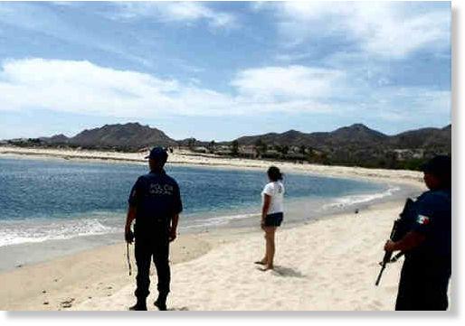 Desaparecen 13 mil metros de playa en Baja California . Playa_en_Los_Frailes
