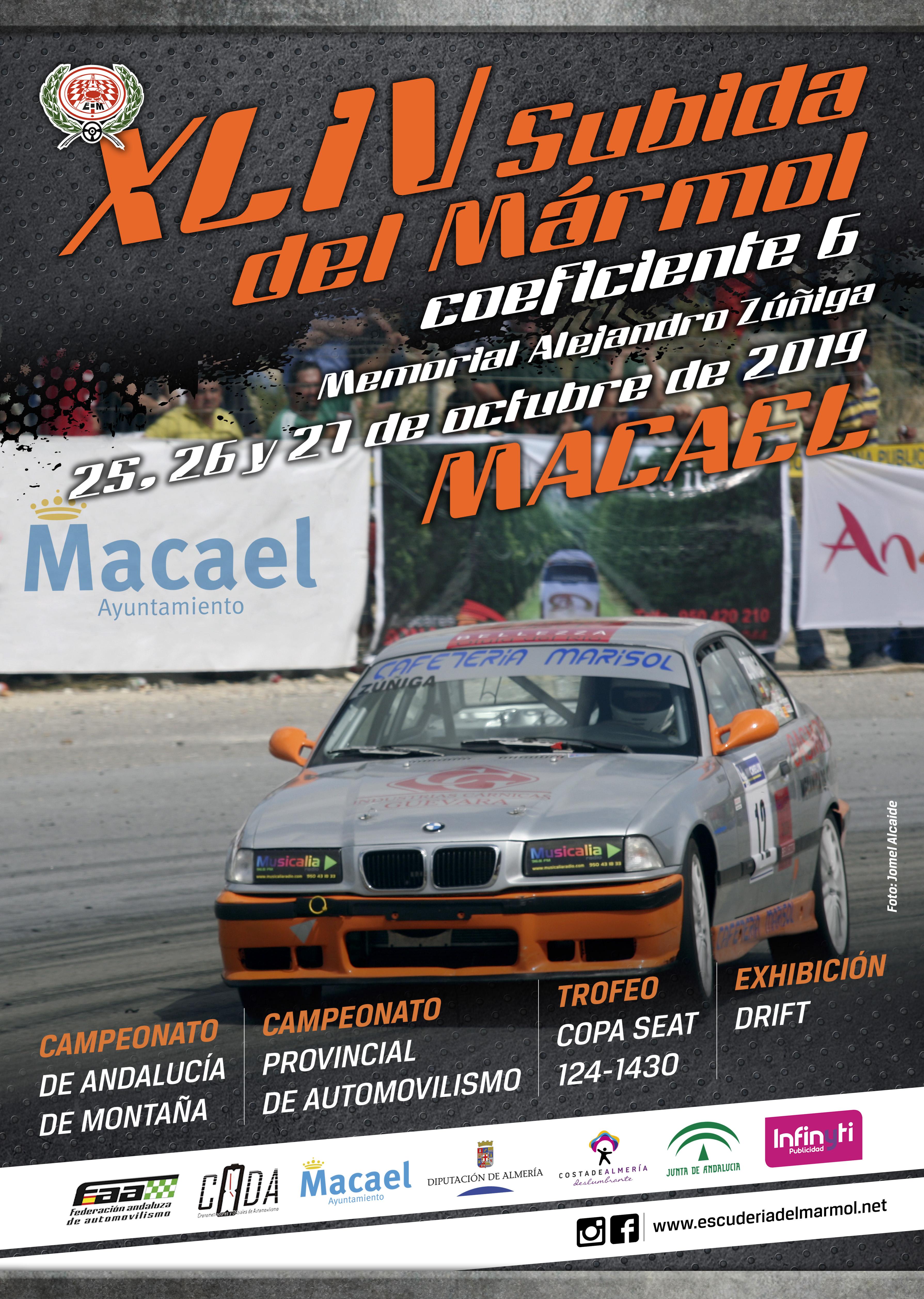 Campeonatos de Montaña Nacionales e Internacionales (FIA European Hillclimb, Berg Cup, MSA British Hillclimb, CIVM...) - Página 31 Cartel-SM2019_Final