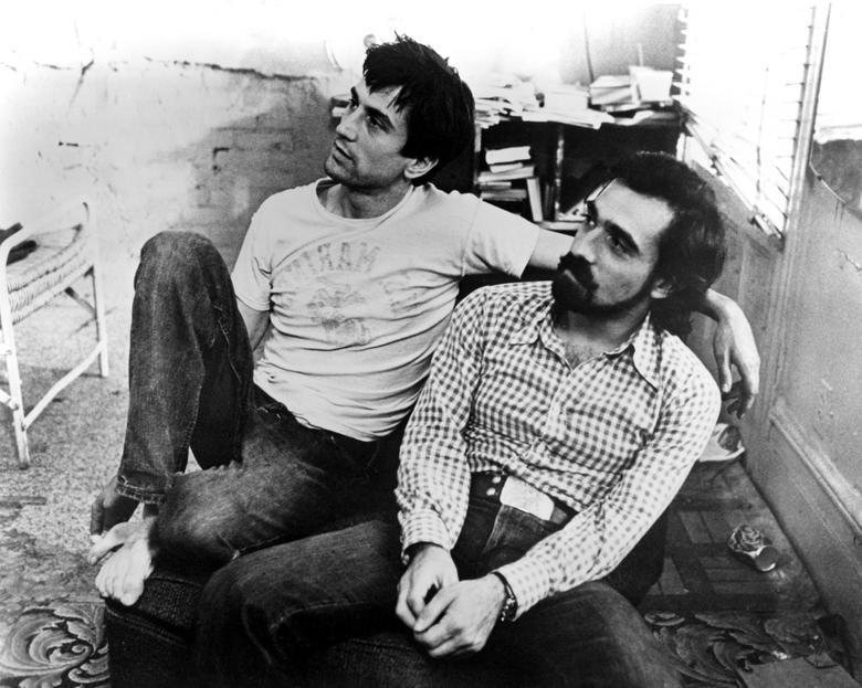 Director/Actor Fetiche Robert-de-niro-and-martin-scorsese-19761
