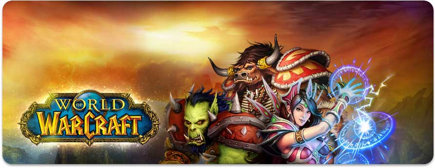 Warcraft fantasy Wow-header