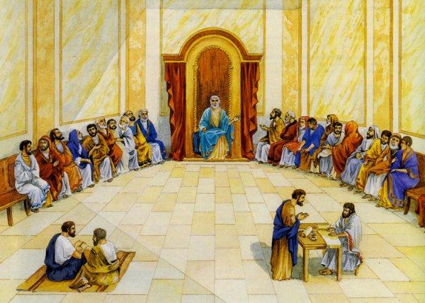 ¿El Evangelio o la Biblia?... ¿qué mandó predicar Jesucristo?... - Página 4 Sanhedrin