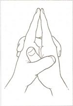 Ksepana-Mudra (Кшепана-Мудра)   Мудра освобождения.  Ksep