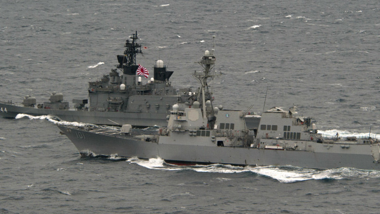 Fuerzas de Autodefensa de Japón adquirirá aviones cisterna y destructor de misiles.  55c5debec4618802328b45ff