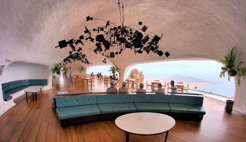 César Manrique, arquitectura integral... Mirador-del-rio-restaurant_image6867_68_69_hdr
