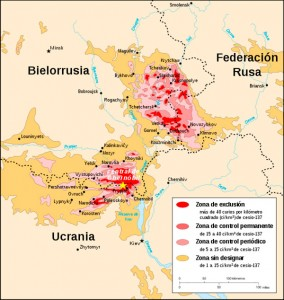 Chernóbil, radiactividad nuclear décadas después [infografía animada]. Chernobillocalizadorok-284x300