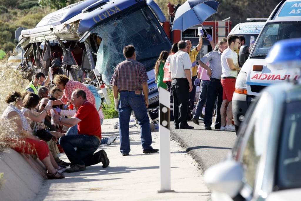 El accidente de autobús de Ávila nos recuerda la tragedia de Golmayo y Arévalo, un trágico julio 1814138199_extras_albumes_0_1024