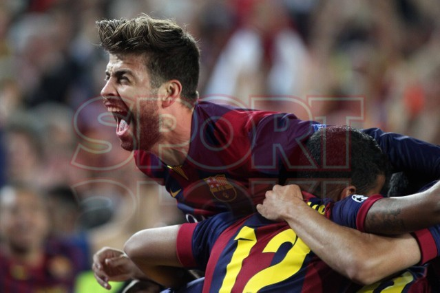 صور : مباراة برشلونة - بايرن ميونيخ  3-0 ( 06-05-2015 )  1430949385420