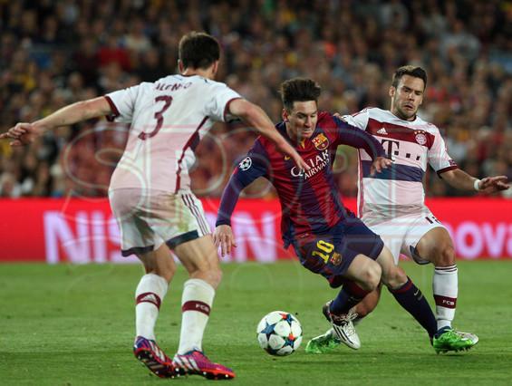 صور : مباراة برشلونة - بايرن ميونيخ  3-0 ( 06-05-2015 )  1430949383740