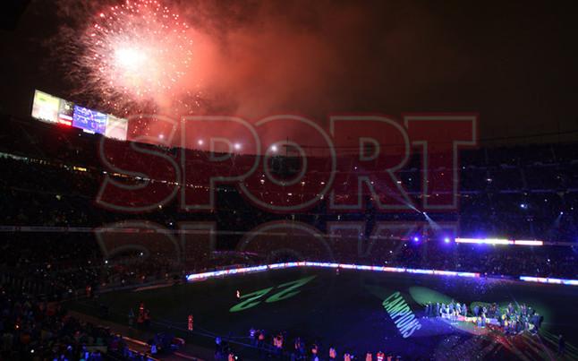صور احتفالات برشلونة بلقب الليغا الاسبانية في ملعب الكامب نو  19-05-2013 1369005691780