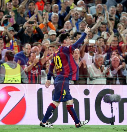 صور : مباراة برشلونة - بايرن ميونيخ  3-0 ( 06-05-2015 )  1430949387001
