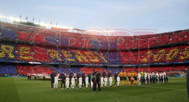 صور : مباراة برشلونة - بايرن ميونيخ  3-0 ( 06-05-2015 )  1430949389311