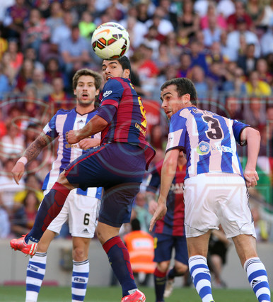 صور : مباراة برشلونة - ريال سوسيداد 2-0 (09-05-2015 ) 1431199812861