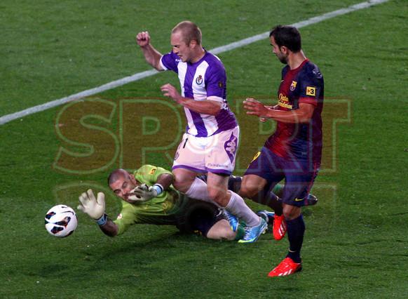 صور مباراة برشلونة - بلد الوليد 2-1 ( 19-05-2013 ) 1368998360491