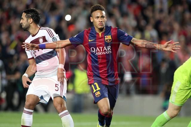 صور : مباراة برشلونة - بايرن ميونيخ  3-0 ( 06-05-2015 )  1430949385391