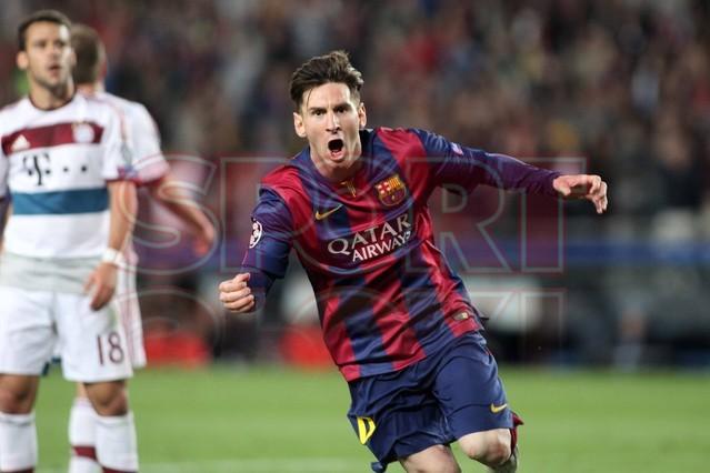 صور : مباراة برشلونة - بايرن ميونيخ  3-0 ( 06-05-2015 )  1430949385142