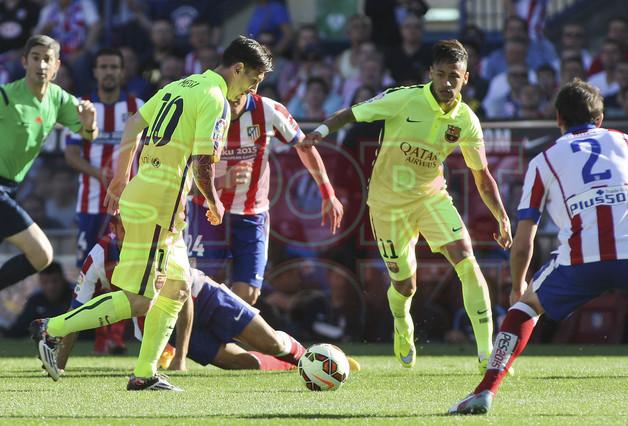 صور : مباراة أتليتيكو مدريد - برشلونة 0-1 ( 17-05-2015 )  1431890634942