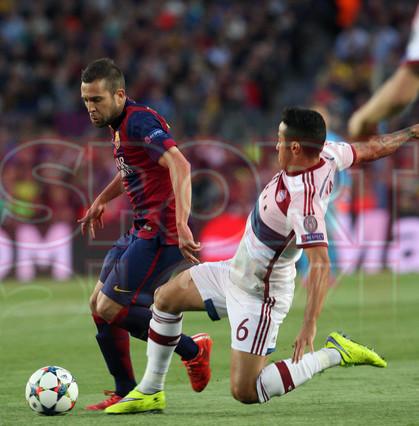 صور : مباراة برشلونة - بايرن ميونيخ  3-0 ( 06-05-2015 )  1430949386952