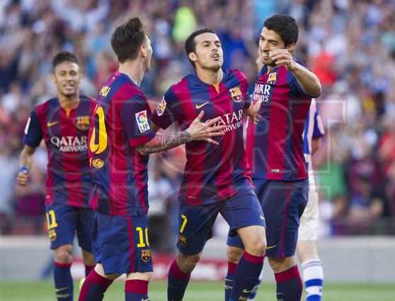 صور : مباراة برشلونة - ريال سوسيداد 2-0 (09-05-2015 ) 1431199815072