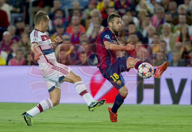 صور : مباراة برشلونة - بايرن ميونيخ  3-0 ( 06-05-2015 )  1430949383782