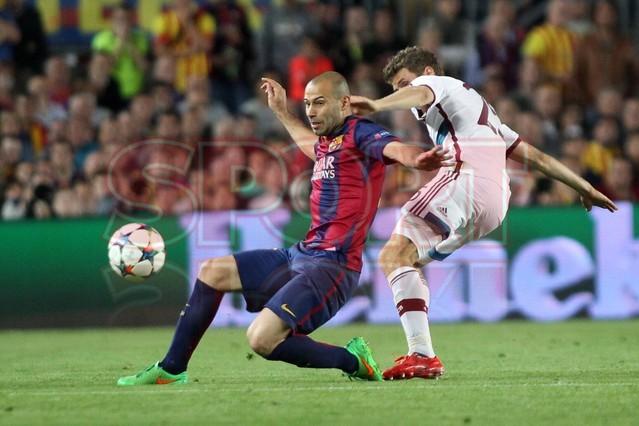 صور : مباراة برشلونة - بايرن ميونيخ  3-0 ( 06-05-2015 )  1430949387503