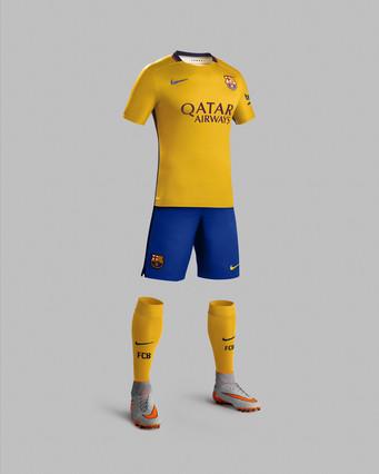 رسمياً : برشلونة يكشف عن قميصه الجديد لموسم 2015-2016 1432456690623