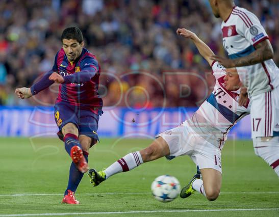 صور : مباراة برشلونة - بايرن ميونيخ  3-0 ( 06-05-2015 )  1430949385253