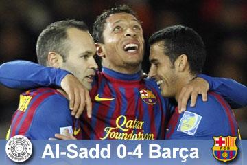 Al- Sadd vs Fútbol Club Barcelona semifinal del mundial de clubes 1323952604283