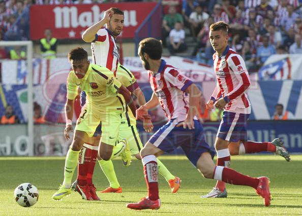 صور : مباراة أتليتيكو مدريد - برشلونة 0-1 ( 17-05-2015 )  1431890639283