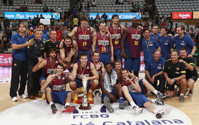 El Barça,campeón de la Lliga Catalana 1348694569634