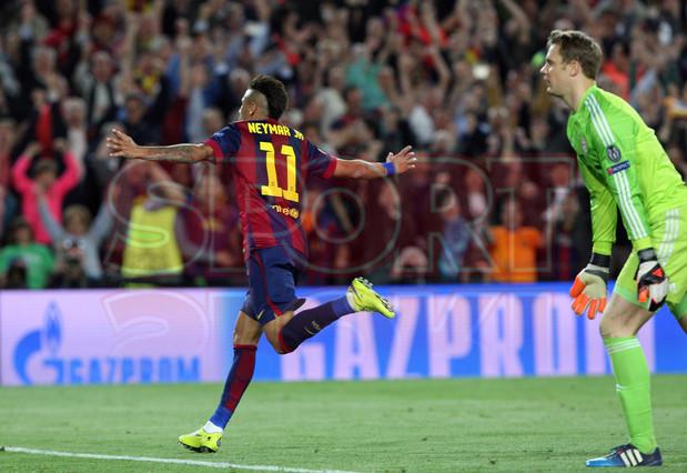 صور : مباراة برشلونة - بايرن ميونيخ  3-0 ( 06-05-2015 )  1430949385644
