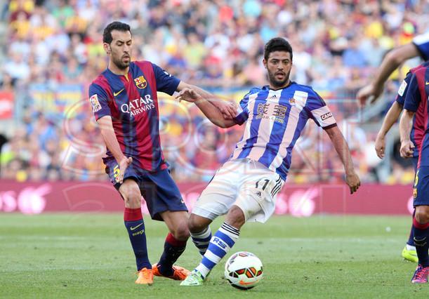 صور : مباراة برشلونة - ريال سوسيداد 2-0 (09-05-2015 ) 1431199814354