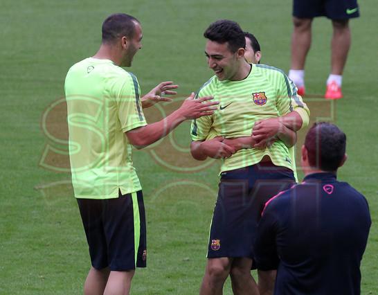 تدريبات برشلونة في أليانز أرينا Entreno-barcelona-munich-1431370119205