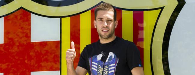 Jordi Alba, primer fichaje del Barça para la temporada que viene 1341399683625