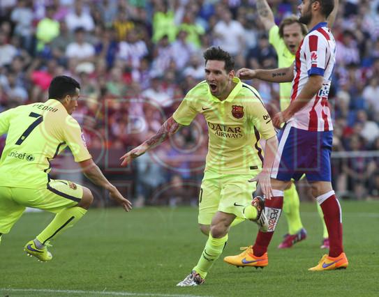 صور : مباراة أتليتيكو مدريد - برشلونة 0-1 ( 17-05-2015 )  1431890636925