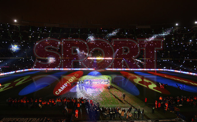 صور احتفالات برشلونة بلقب الليغا الاسبانية في ملعب الكامب نو  19-05-2013 1369005695835