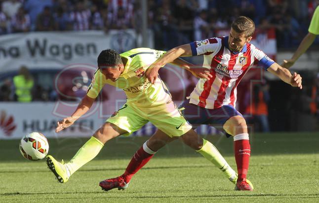 صور : مباراة أتليتيكو مدريد - برشلونة 0-1 ( 17-05-2015 )  1431890635035