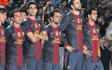 La nueva camiseta del Barça, en el MACBA 1338154820345