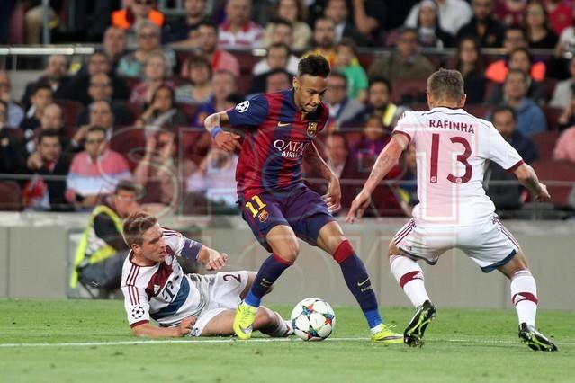 صور : مباراة برشلونة - بايرن ميونيخ  3-0 ( 06-05-2015 )  1430949387445