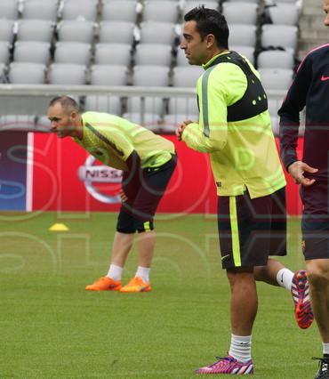 تدريبات برشلونة في أليانز أرينا Entreno-barcelona-munich-1431370179545