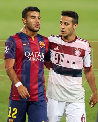 صور : مباراة برشلونة - بايرن ميونيخ  3-0 ( 06-05-2015 )  1430949387895
