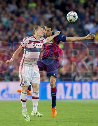صور : مباراة برشلونة - بايرن ميونيخ  3-0 ( 06-05-2015 )  1430949383856