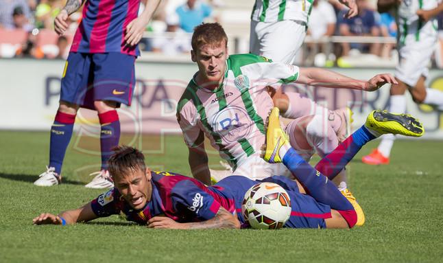 صور : مباراة قرطبة - برشلونة  0-8 ( 02-05-2015 )  1430583415586
