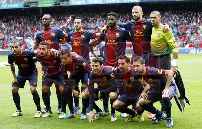 بالصور مباراة أتليتيكو بلباو - برشلونة 2-2 (27-06-2013) 1367089920227