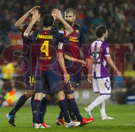 صور مباراة برشلونة - بلد الوليد 2-1 ( 19-05-2013 ) 1368998416747