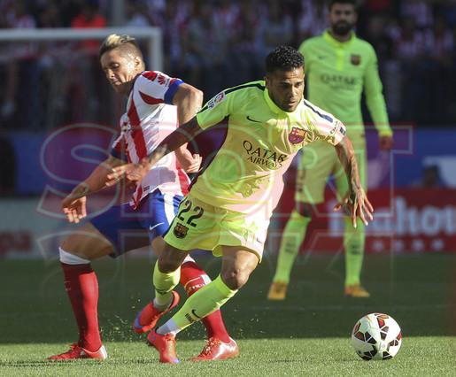 صور : مباراة أتليتيكو مدريد - برشلونة 0-1 ( 17-05-2015 )  1431890637557