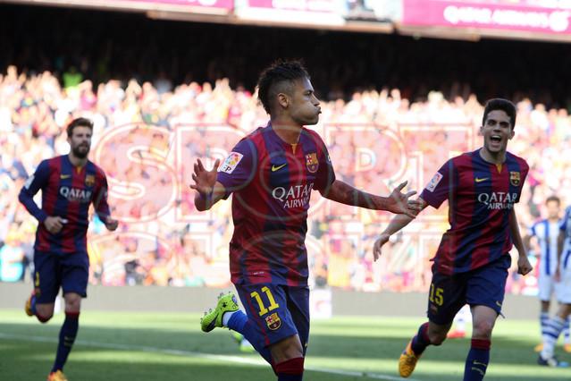 صور : مباراة برشلونة - ريال سوسيداد 2-0 (09-05-2015 ) 1431199814367