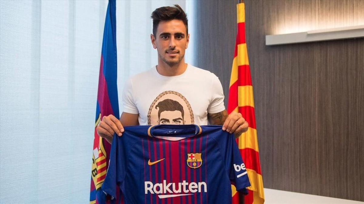 David Costas (Celta) jugará cedido en el Barça B 1504199495067