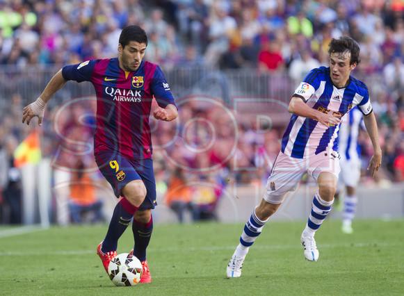 صور : مباراة برشلونة - ريال سوسيداد 2-0 (09-05-2015 ) 1431199753608