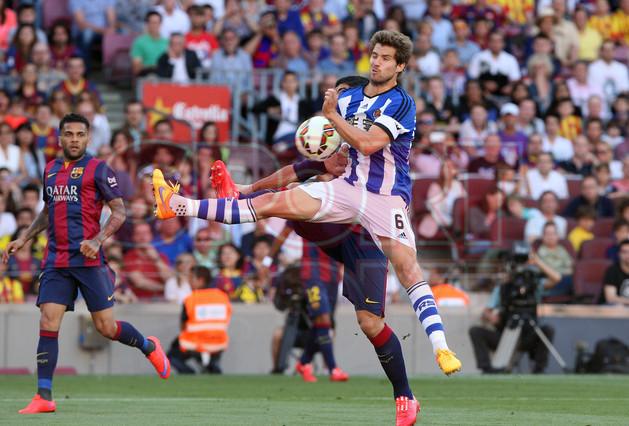 صور : مباراة برشلونة - ريال سوسيداد 2-0 (09-05-2015 ) 1431199814808
